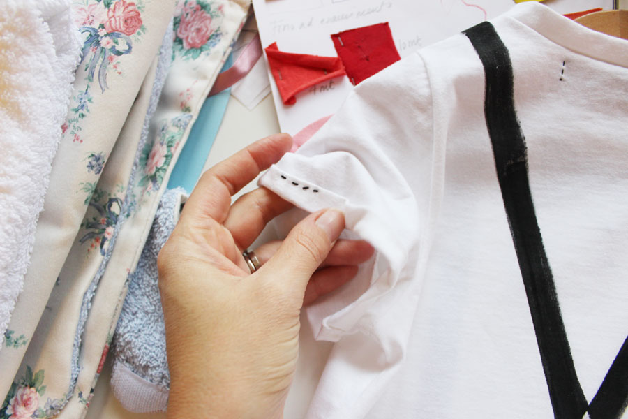sleeves detail