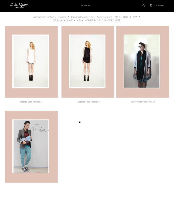 ecommerce,lookbook,indie fashion maker