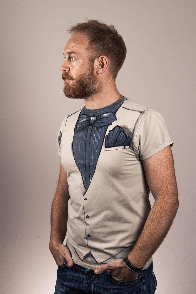 stylish mens t shirt retro style