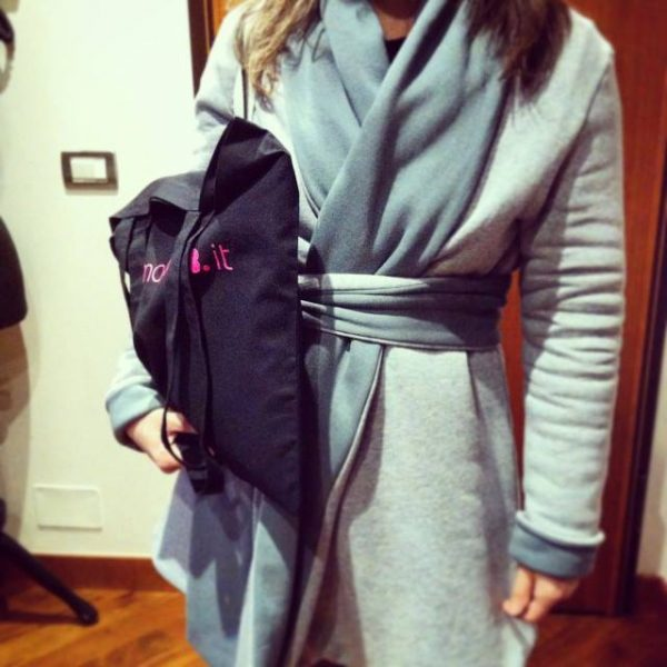 kimono hand made coat greta pigatto