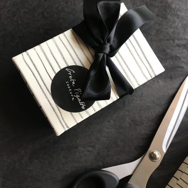 Giftcard Greta Pigatto couture vestiti artigianali fatti a mano in Italia personalizzabili moda sotenibile